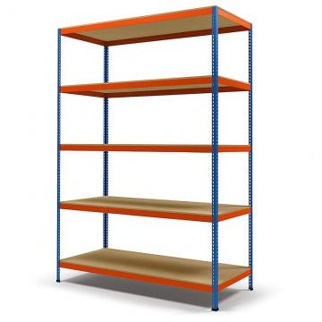 Bear 1200kg Heavy Duty Commercial Industrial Adjustable Grid Storage Shelving