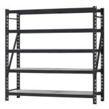 Heavy Supermarket/Warehouse Steel Metal Display Adjustable Rivet Rack Shelving