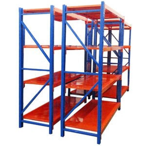 Industry Warehouse Metal Shelf Storage Rack System Steel Shelf #3 image
