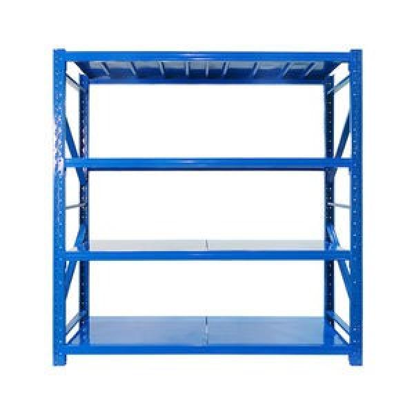 Adjustable Chrome Wire Shelving Metal Storage Rack for Garage / Warehouse #2 image