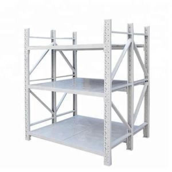 New Square Tube Column Storage Shelves Load-Bearing High Industrial Shelves #2 image