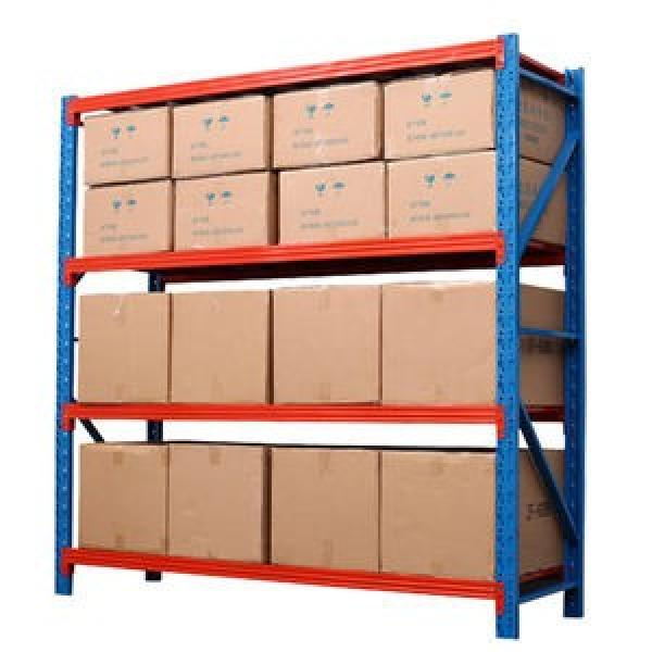New Square Tube Column Storage Shelves Load-Bearing High Industrial Shelves #1 image
