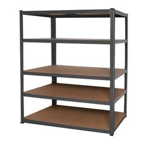 "Restaurant Kitchen 42""X 30"" 4 Tier Wire Rack Unit Adjustable Wire Metal Shelving #1 image"