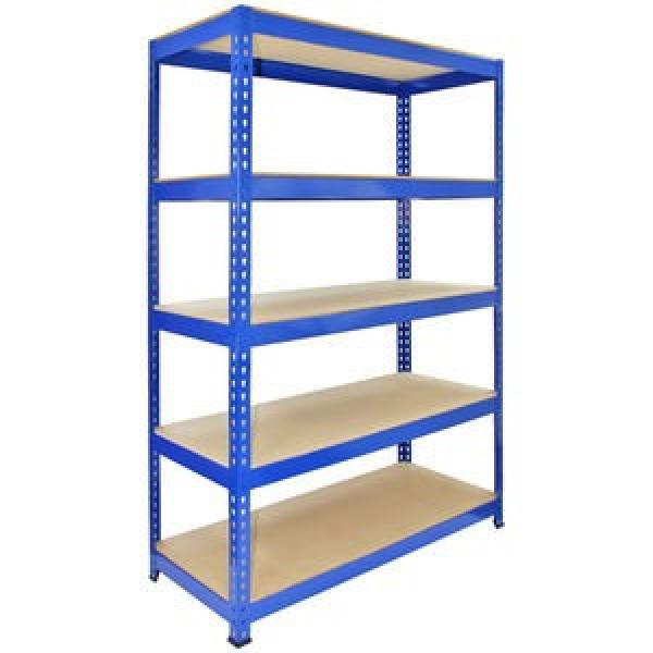 Steel Metal Heavy Supermarket/Warehouse Display Adjustable Rivet Rack Shelving #2 image