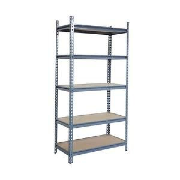 Steel Metal Heavy Supermarket/Warehouse Display Adjustable Rivet Rack Shelving #3 image