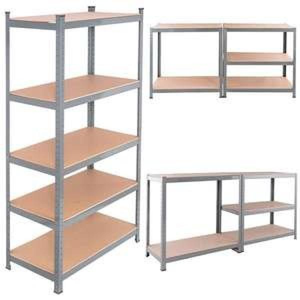 Assembly Adjustable Epoxy Metal Furniture Wire Shelving for Home #1 image