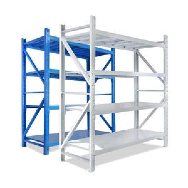 4 Tire Metal Storage Rack Used Commercial Shelving #1 image